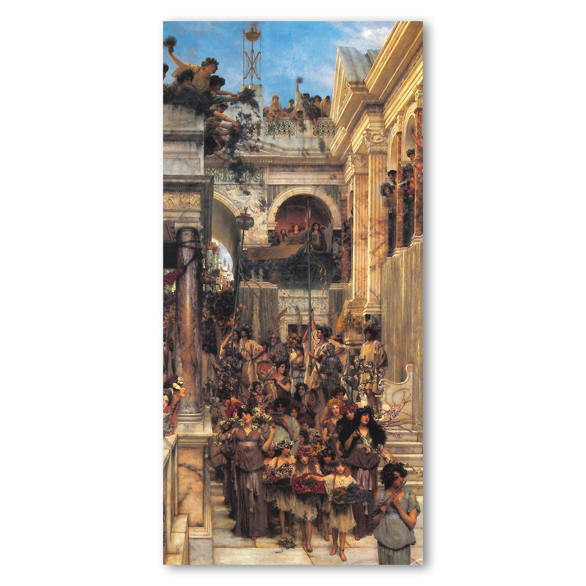 Alma-Tadema Spring Panoramic Postcard | Getty Store