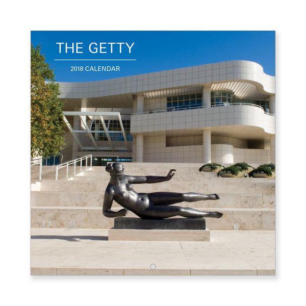 2018 Mini Wall Calendar - Views of the Getty