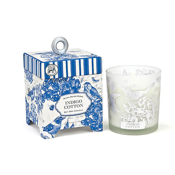 Soy Wax Candle - Indigo Cotton