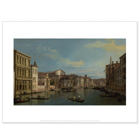Canaletto - <i>The Grand Canal in Venice</i> - Poster