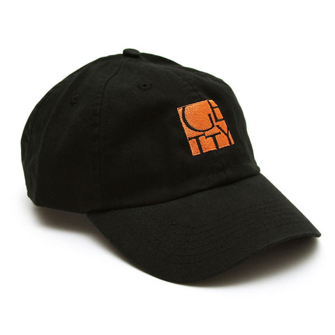 Getty Embroidered Logo Cap - Black