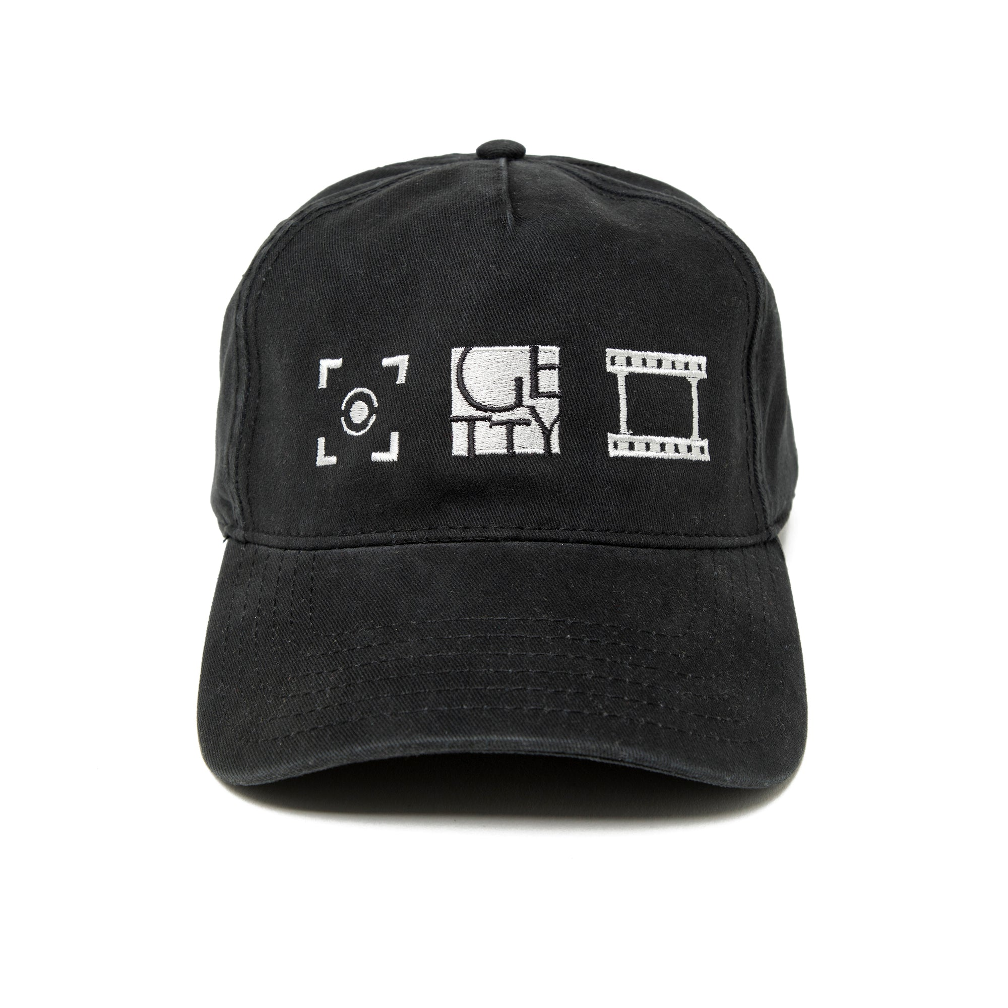 Getty Embroidered Photo icons Cap-side view | Getty Store