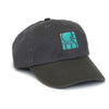 Getty Embroidered Logo Cap - Gray