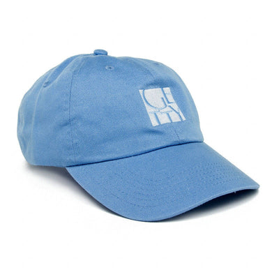 Getty Embroidered Logo Cap - Blue