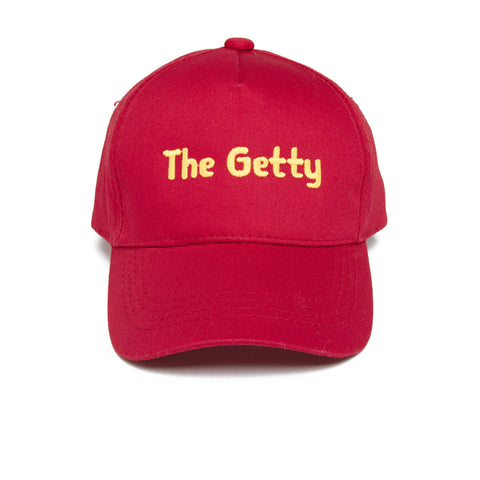 Getty Youth Cap - Red
