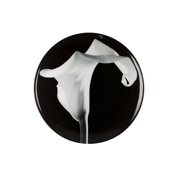 Limoges Porcelain Plate - <i>Calla Lily</i> by Robert Mapplethorpe