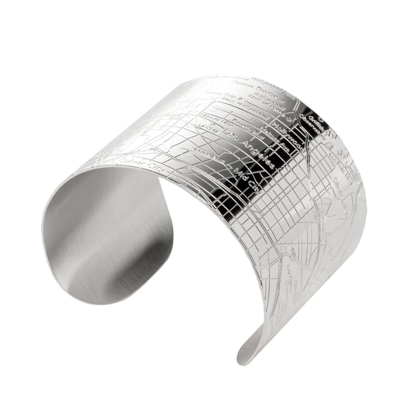 Los Angeles Cuff Bracelet - Polished Finish