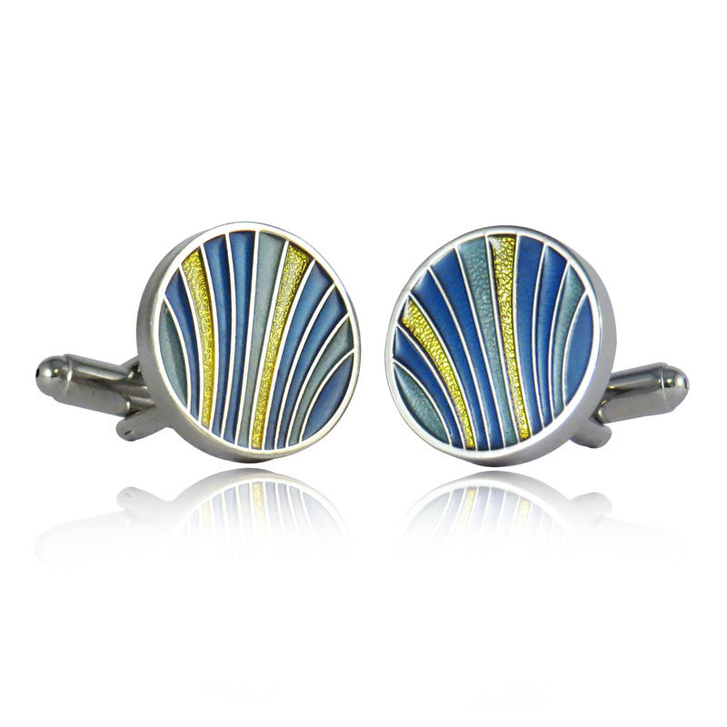 Cuff Links- Color Bands | Getty Store