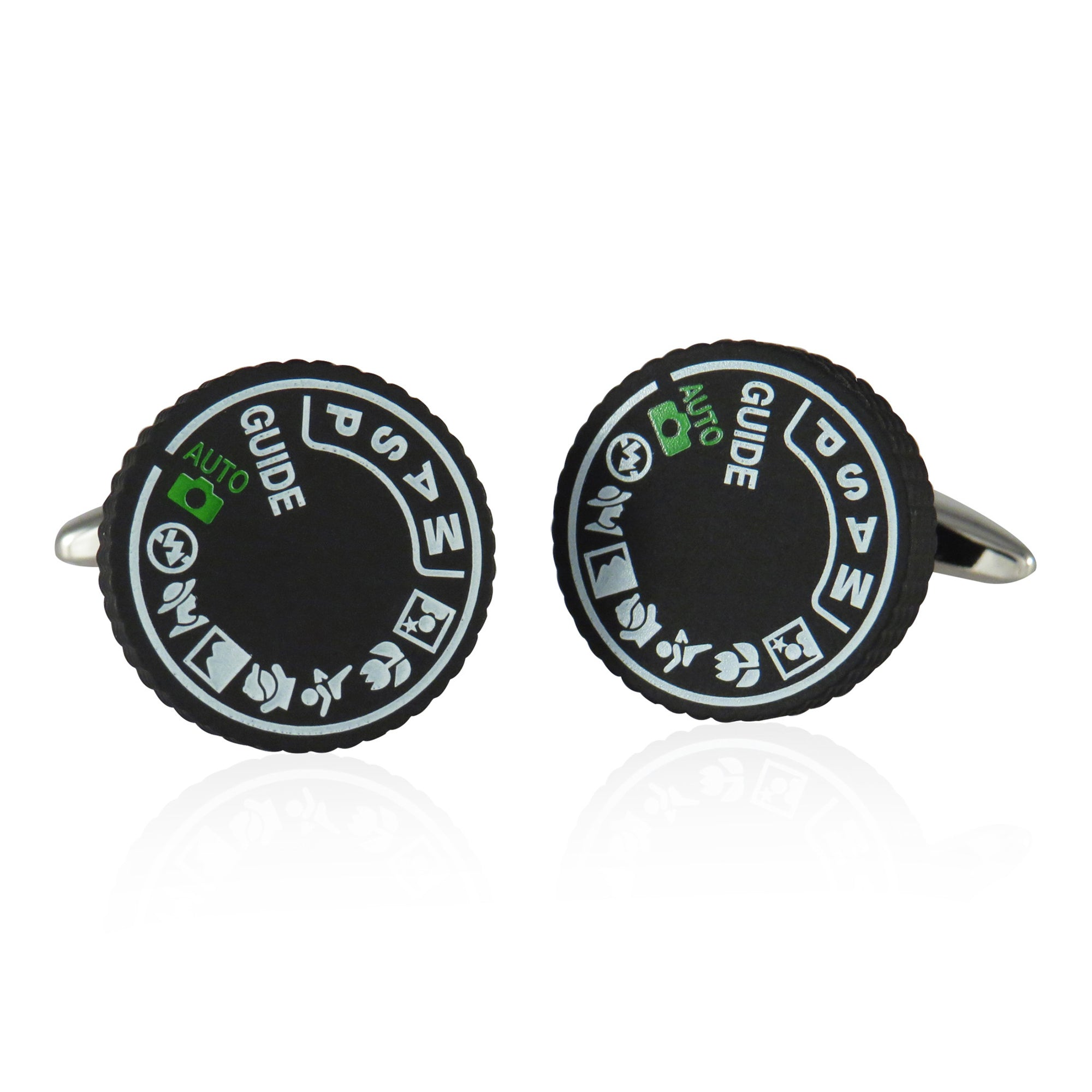 35MM Camera Dial Cuff Links | Getty Store
