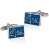 Blueprint Cuff Links