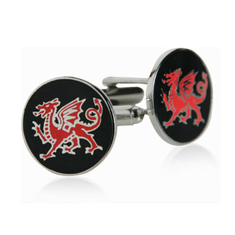 Cuff Links - Red Dragon