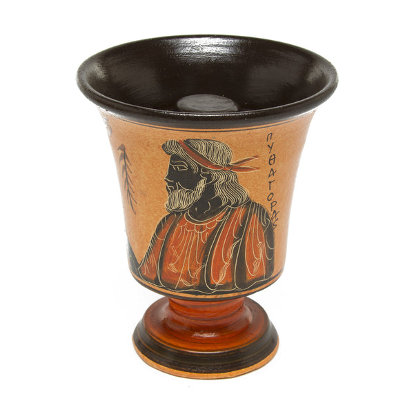 Classic Pythagorian Cup with Black Interior