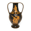 Large Amphora Vase - Black and Red Figure with Double Handles