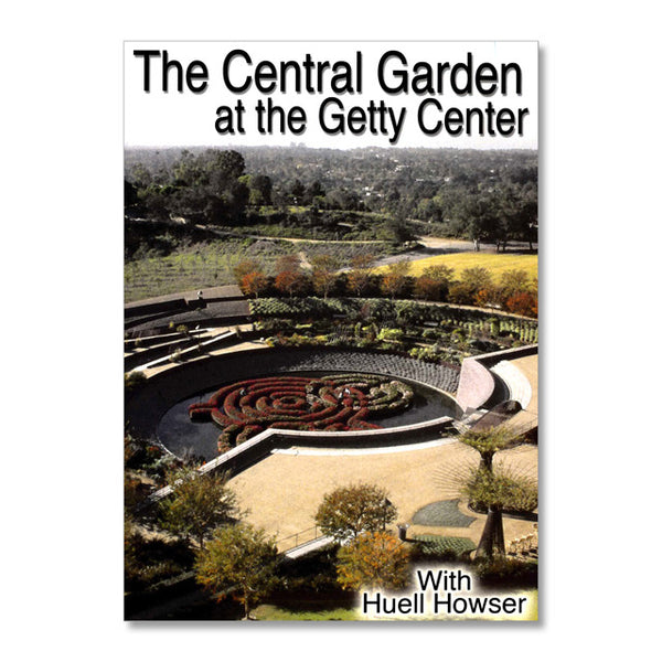 DVD Central Garden at the Getty Center - Huell Howser