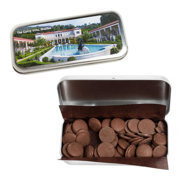 Getty Villa Chocolate Tin