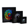 "Cleverclock: Multi-Color Sonar 12"" Wall Clock"