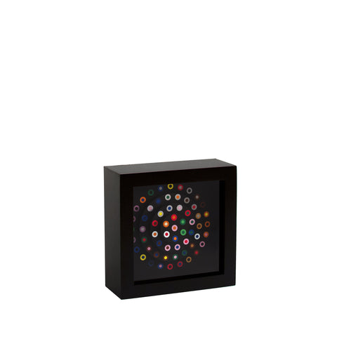"French Dot Pattern Clock - 5.5"" Desk Clock"