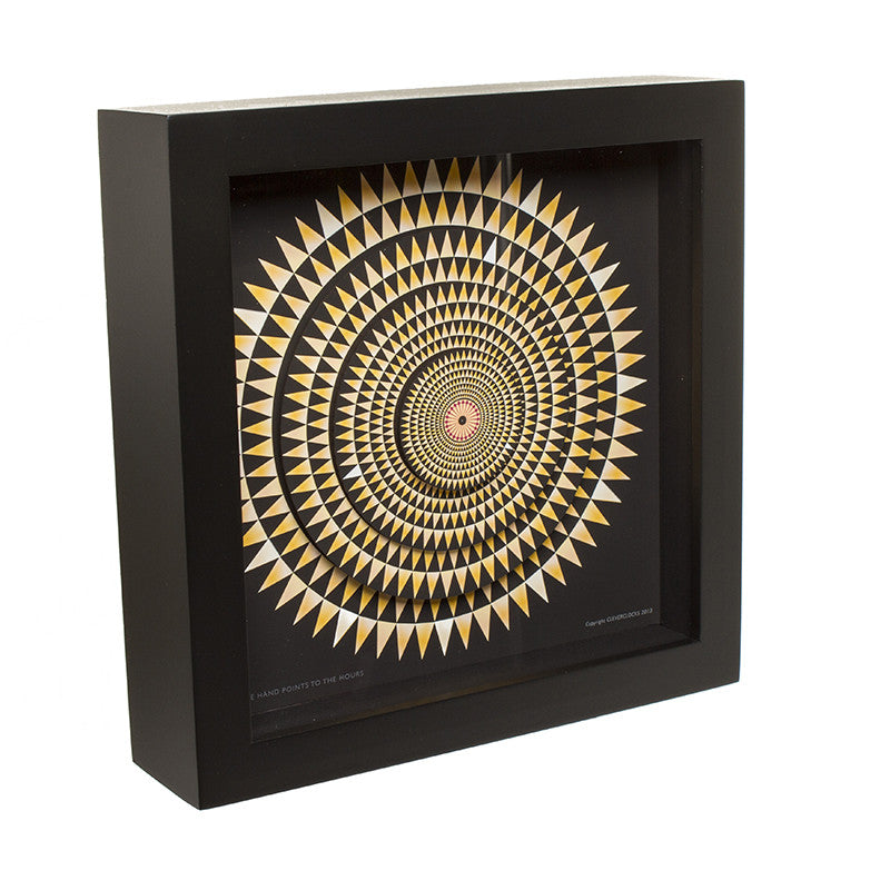 Hercules Mosaic Floor  Desk Clock- 12 inches | Getty Store
