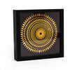 Hercules Mosaic Floor Wall Clock - 9""