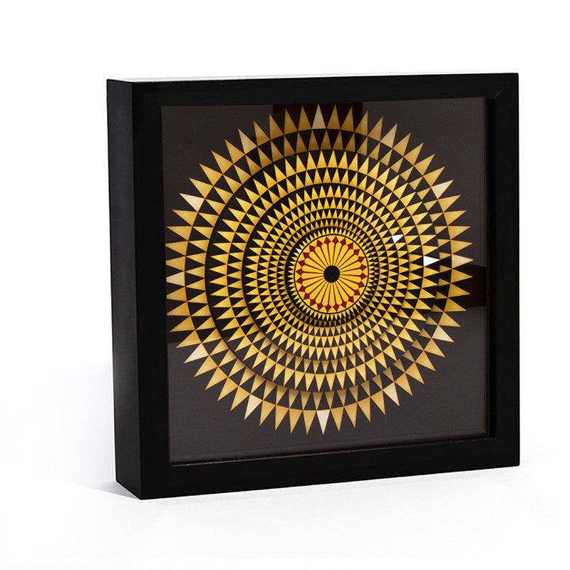 Hercules Mosaic Floor  Desk Clock- 9 inches | Getty Store