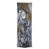 Scarf - Vintage World Map - Silk and Cashmere Wool