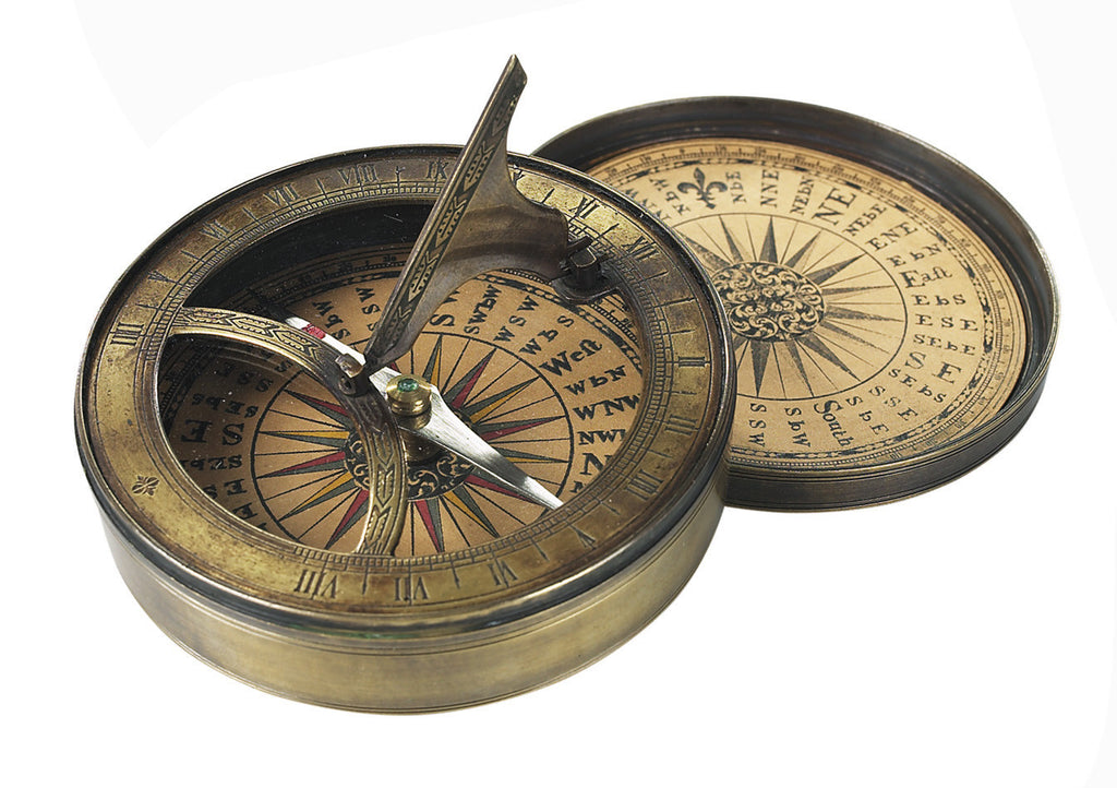 18th Century Reproduction Sundial/Compass