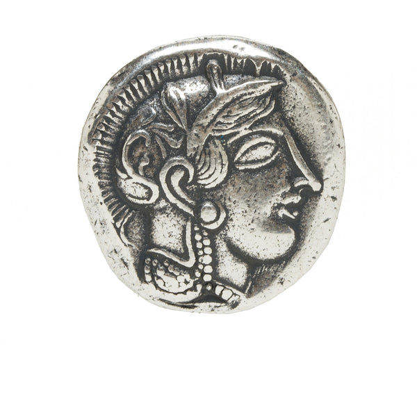Greek Coin Reproduction - Athena & the Owl