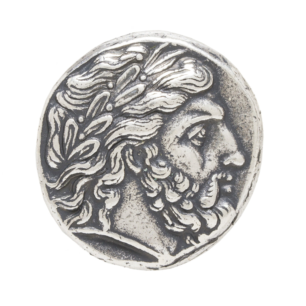 Greek Coin Reproduction - Zeus
