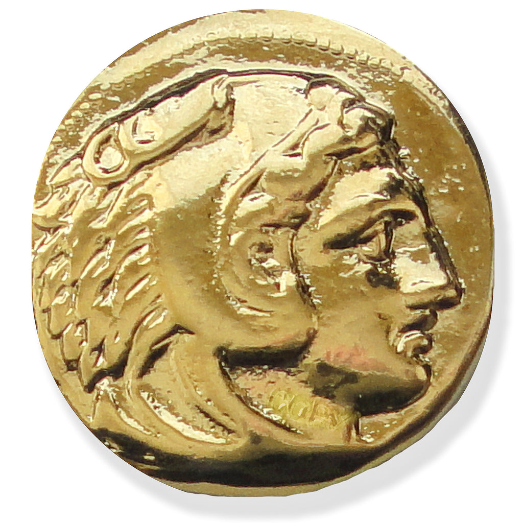 Greek Coin Reproduction - Head of Alexander