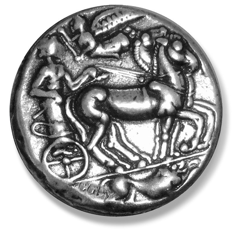 Greek Coin Reproduction - Apollo Charioteer
