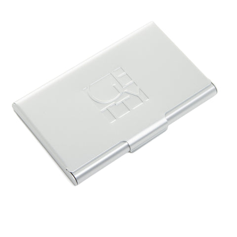 Debossed Wordmark Card Case