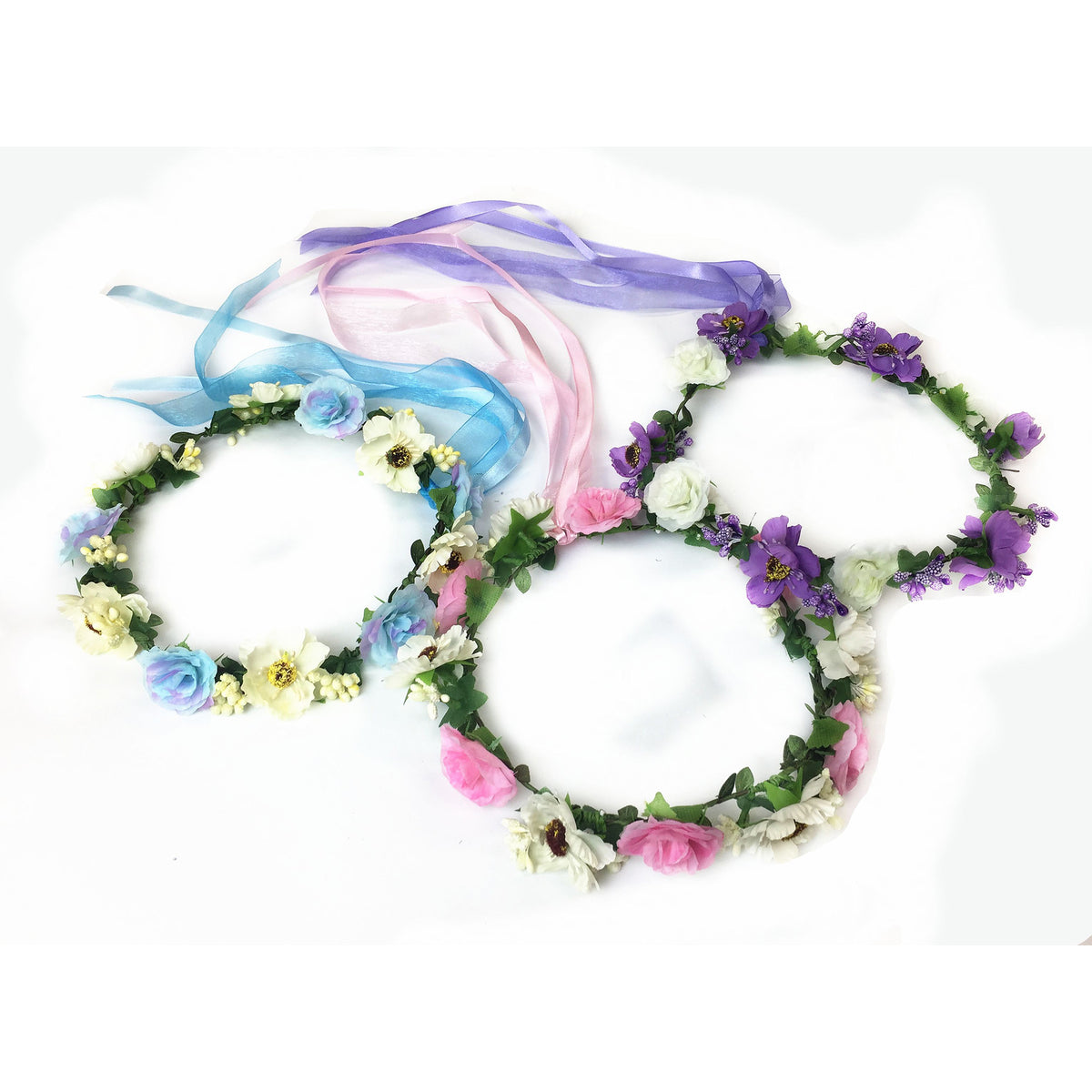 Flower Wreath Headband