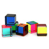 Vasa Small Multicolor Acrylic Cube -multiple colored cubes shown-sold Individually | Getty Store