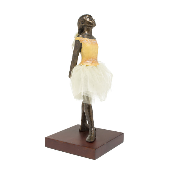 "Edgar  Degas Sculpture (8"" H) - The Fourteen-year-old Dancer"