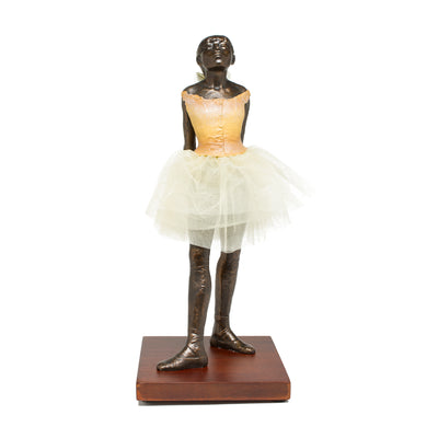 "Edgar  Degas Sculpture (13"" H) - The Fourteen-year-old Dancer"