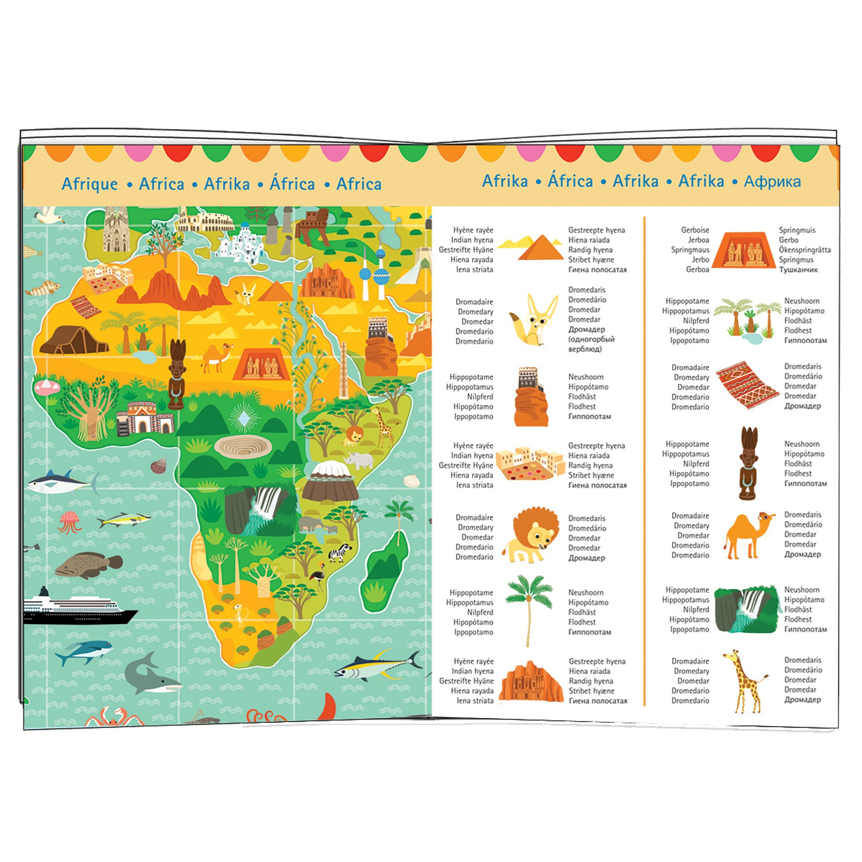 Around the World Puzzle- 200 pieces  | Getty Store
