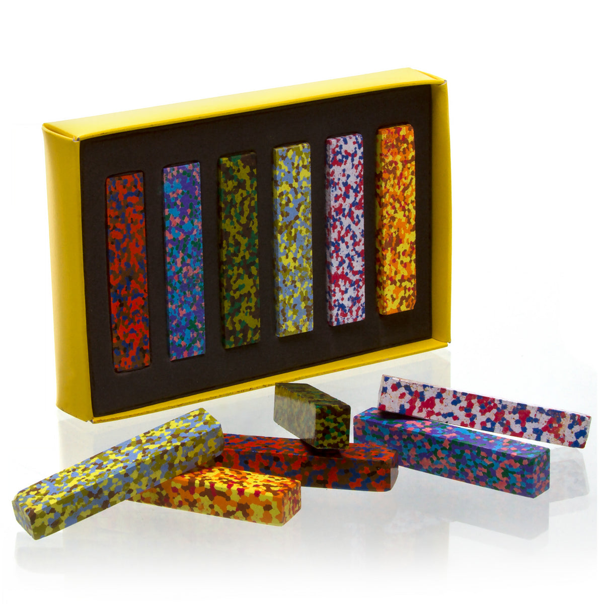 Multicolor Dot Crayon Sticks- Inspired by Monet's Colors | Getty Store