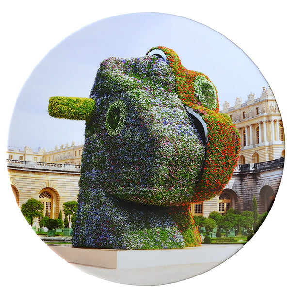 Limited Edition Porcelain Plate by Bernardaud - Jeff Koons' <i>Split-Rocker</i>