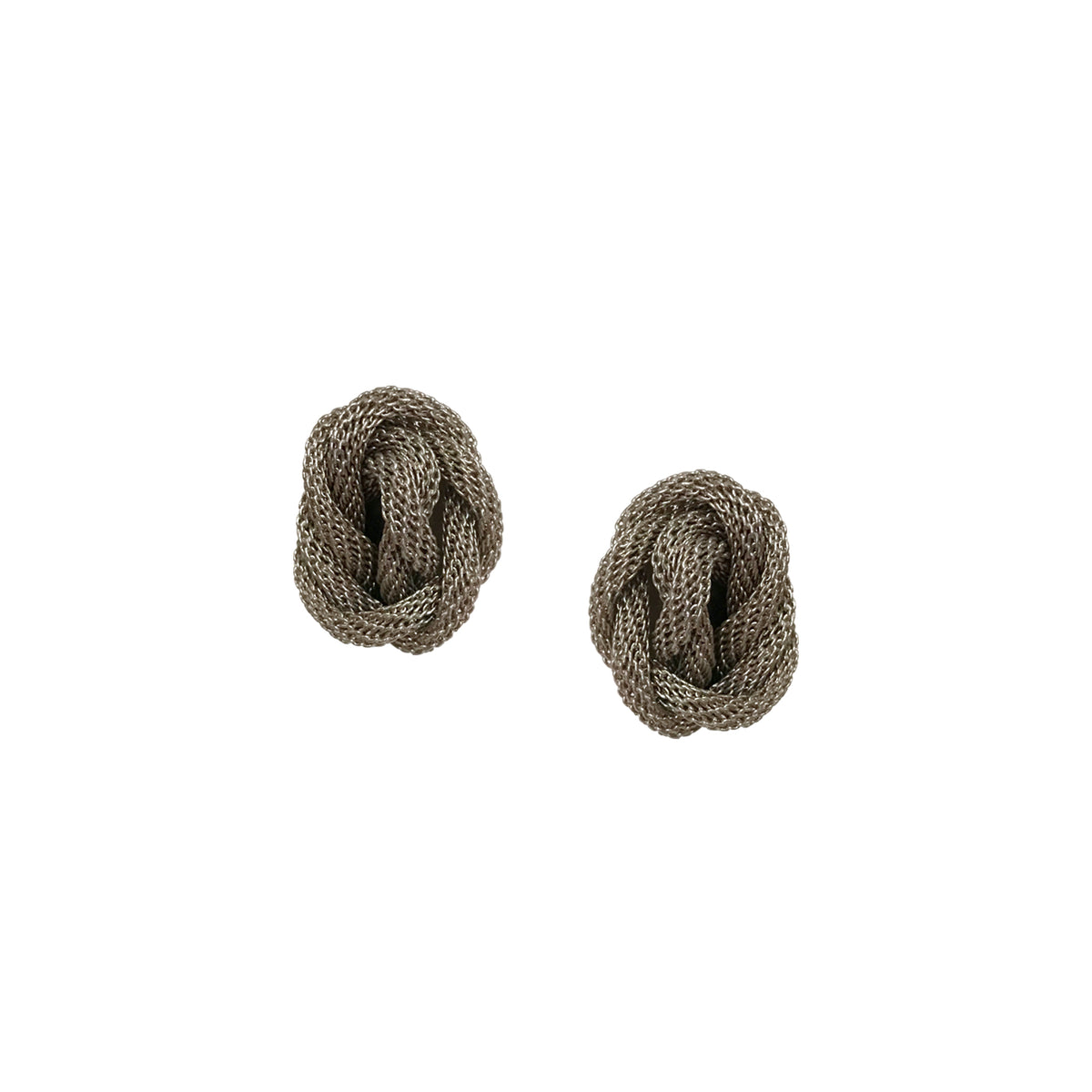 Double Strand Knot Earrings