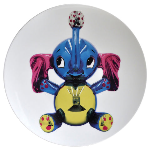 Limited Edition Porcelain Plate by Bernardaud - Jeff Koons' <i>Elephant</i>