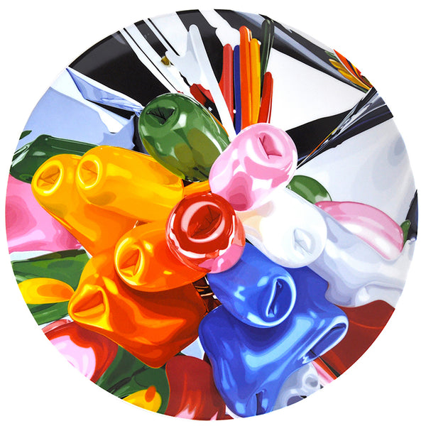 Limited Edition Porcelain Plate by Bernardaud - Jeff Koons' <i>Tulips</i>