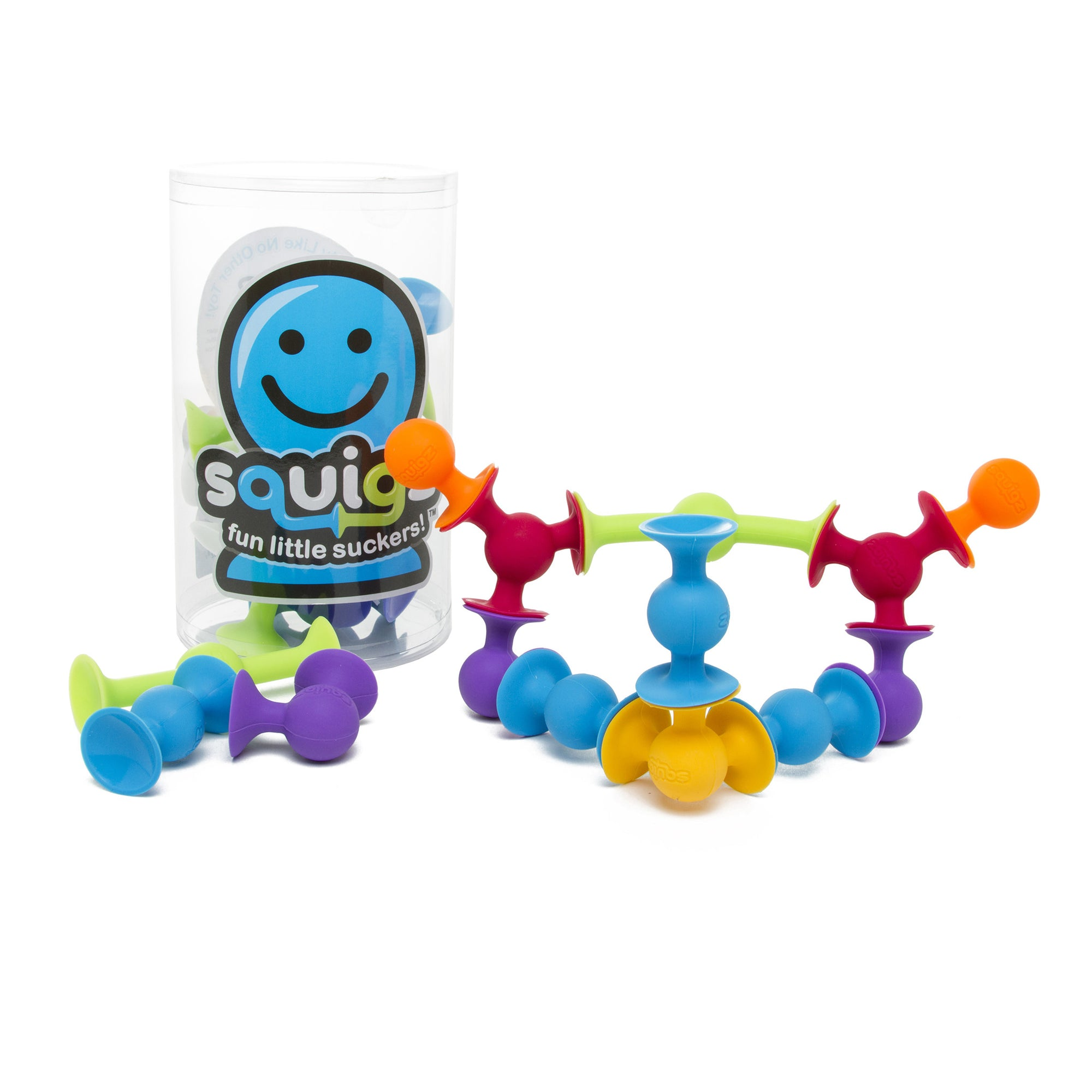 Squigz Construction Set- 24 Piece Starter Set | Getty Store