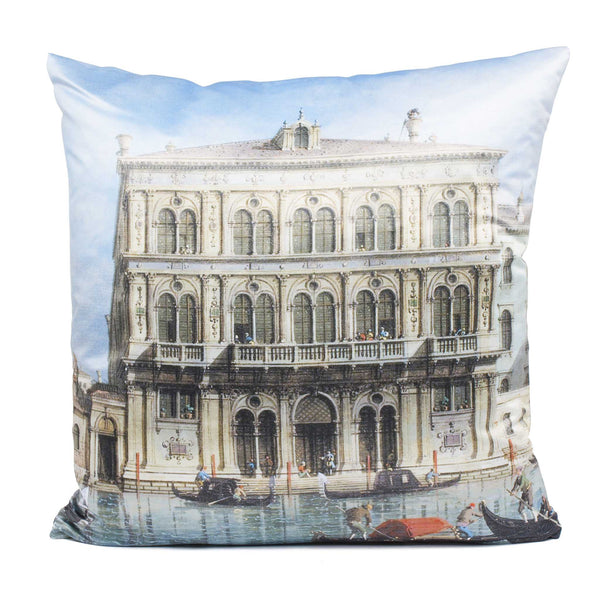 Canaletto Pillow - Palazzo on the Grand Canal