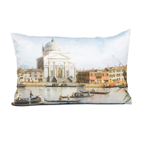 Canaletto Pillow - View of Churches