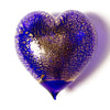 Large Handblown Murano Glass Heart