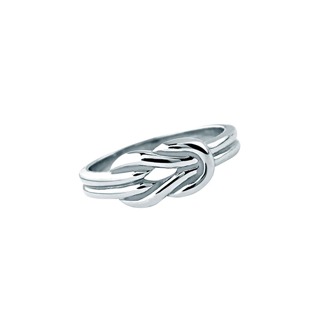 Stainless Steel Herakles Knot Ring