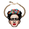 Frida Kahlo Beaded Bracelet