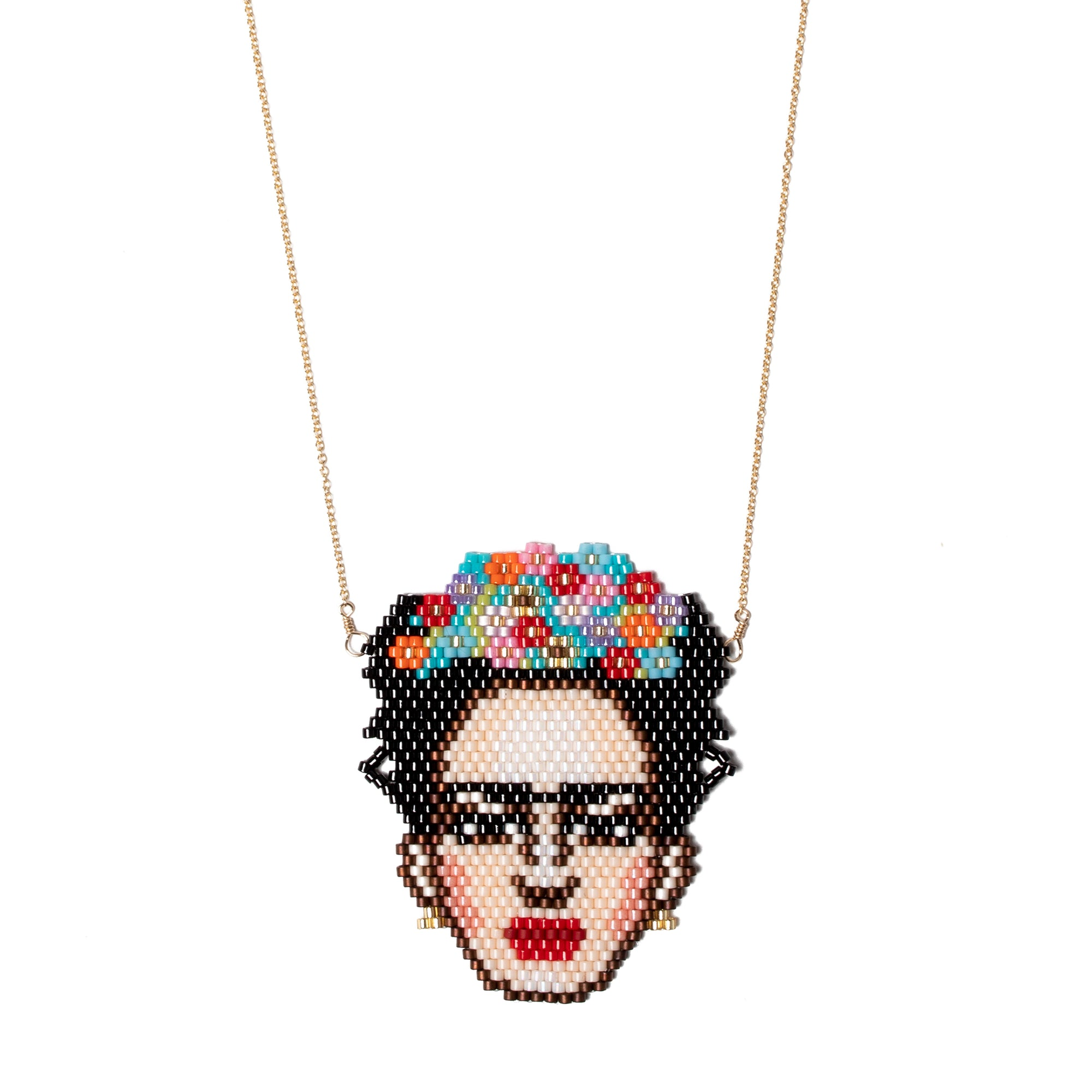 Frida Kahlo Beaded Necklace | Getty Store