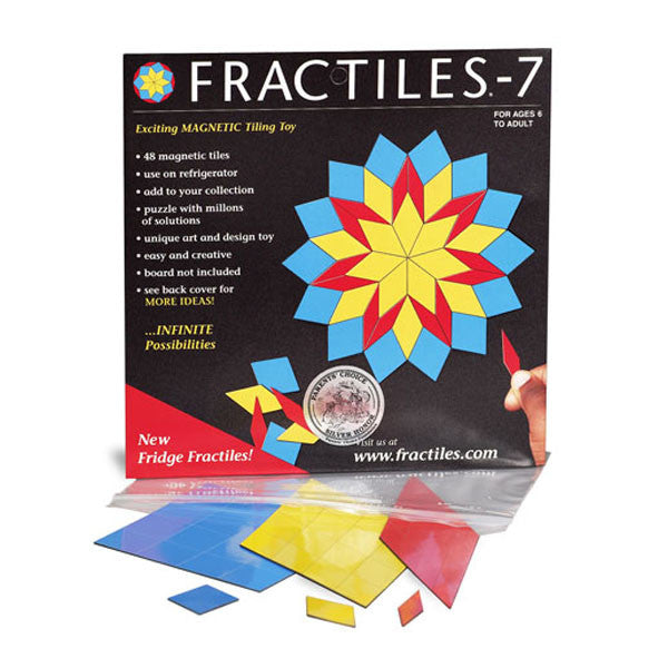 Fractiles-7 Magnetic Tiling Toy