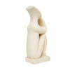 "Sitting Cycladic Figure (9"")"